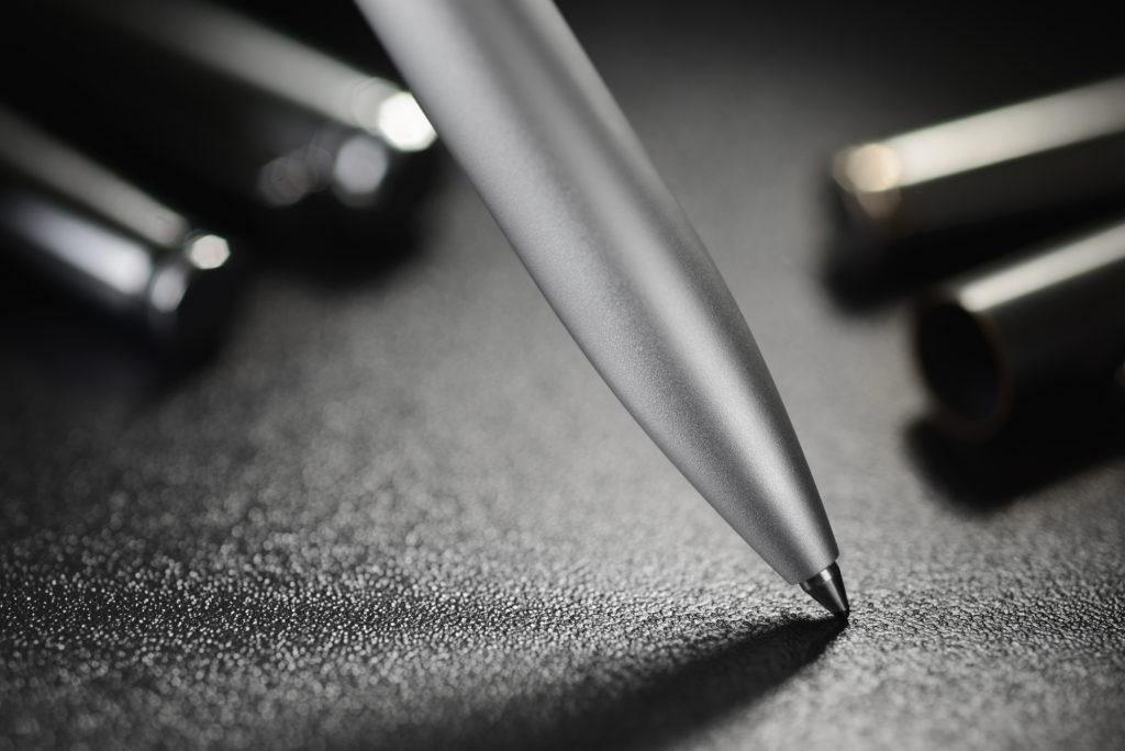 sichtprüfungen stufe vt 1+2 - steel ballpoint pen PLV3249 1024x684 - Sichtprüfungen Stufe VT 1+2